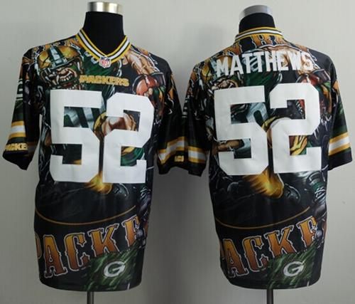 purchase cheap 9dae0 b34c9 Nike Packers #52 Clay Matthews Team Color Men's Stitched NFL ...